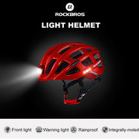 ROCKBROS Helm Sepeda Light Cycling Bike Helmet with Headlight - ZN1001