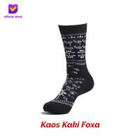 Kaos Kaki Motif Fashion Footstep Footwear - Foxa Socks