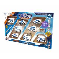 Mainan Mobil Super Car City Police 8 pcs No.876E-31A