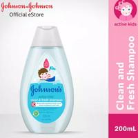 Johnson's Active Kids Shampoo 200ml Johnsons Sampo Anak Johnsons