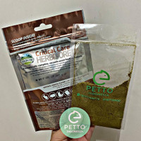 vitamin kelinci kura kura iguana oxbow critical care fine grind 25gr