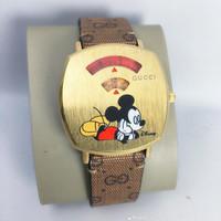 Jam Tangan Fashion wanita Mickey Mouse Gucci