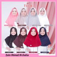 Jilbab Anak Sekolah Bpl teen Kerudung plain laura anak by Miulan - Putih