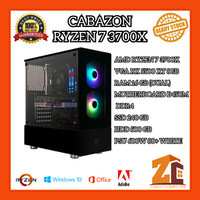 Pc Gaming/Editing Amd Ryzen 7 3700X RX 5500 XT 8GB 8GB 240GB 1TB - 8 gb