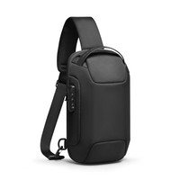 Tas Selempang MARK RYDEN MR7116 Original Sling Bag Anti Maling TSA USB - Hitam