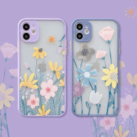 Spring Flowers Hybrid Case iP7+ 8+ X XS XS MAX XR 11 11 PRO 11 PRO MAX