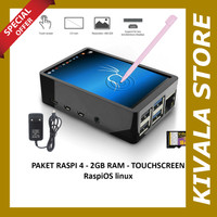 Paket Raspberry Pi 4 LCD Touchscreen 3.5 inch - RaspiOS 16GB, 2GB RAM