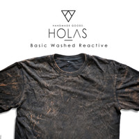 Holas Basic Washed / Kaos Distro Wash Tie Dye