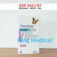 FreeStyle Optium Ketone Darah isi 10 tes strip
