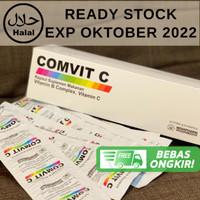 Comvit VIT C Isi 100 /Dus Vitamin Imunitas + FREE BUBBLE WRAP PACKING