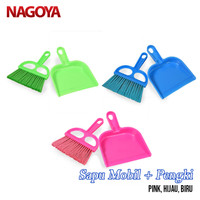 Sapu Plastik Sapu Set Sapu Mini Sapu Kecil Sapu Mobil Nagoya 804