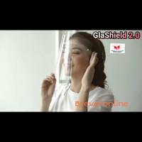 Glashield 2.0 / Glashield Astra / Faceshield Kacamata / Faceshield - Clear