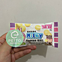 alice milky cheese ball snack hamster kelinci guinea pig isi 10pcs