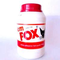Lem fox putih 1 kg
