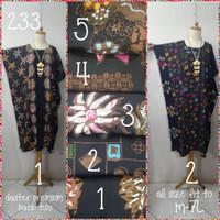 Daster batik tulis kalong premium(adem.tebal.tdk berbulu)all size m-7L