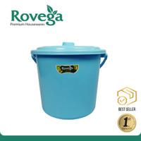 Rovega Ember plastik / Metro Solid Pail 12 Liter Dengan tutup PL41CSBL
