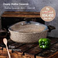 PERO CREAMY SHALLOW CASSEROLE 28