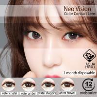 SOFTLENS neo vision SILICOS water kpop softlens KOREAN ORIGINAL - water crystal