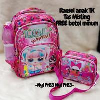 Tas Anak Perempuan Usia 5 sampai 10 Tahun Tas Backpack LOL