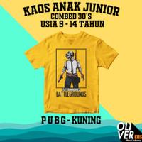 KAOS ANAK TANGGUNG JUNIOR SD SMP karakter superhero game PUBG - 9-10 tahun