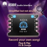XOX KS-108 Sound card