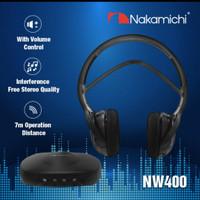 Nakamichi NW 400 Stereo Infrared Headphone Bluetooth Wireless Original