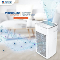 Air Purifier GREE GCF200AANA UV HEPA Filter Anti Virus Bakteri Ionizer