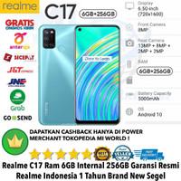 Realme C17 6GB/256GB C 17 6/256GB REAL ME C17 6/256 RESMI-NOT-NARZO-C