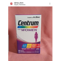 Centrum Multivitamin And Mineral Supplement for Women ISI 60 Tablets