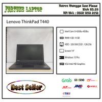 Lenovo ThinkPad T440 |Core i5-Gen 4 |Camera - RAM 4-HDD 500