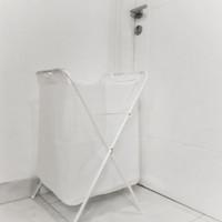 Keranjang Baju Kotor | Laundry Bag Putih