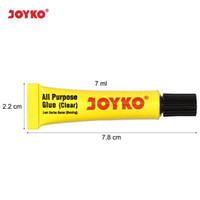 GL506 Lem Serbaguna JOYKO GL-506 All Purpose Adhesive Glue BUKAN UHU