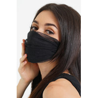 CHIC SIMPLE EAR LOOP DOTTED TULLE MASKER