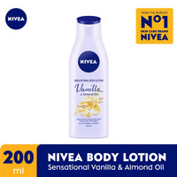 NIVEA Body Lotion Sensational Vanilla & Almond Oil 200ml