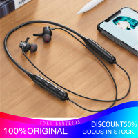 Nirkabel Bluetooth Earphone Olahraga Menjalankan Headset IPX5 Sport - Hitam