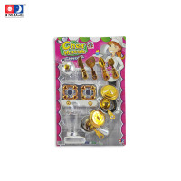 IMAGE toys mainan Deluxe Kitchen Set Chrome Gold