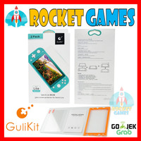 Gulikit NS12 2pc Tempered Glass Screen Protector Nintendo Switch LITE