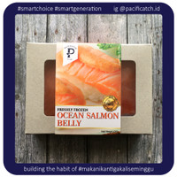 PacifiCatch Ikan Salmon Belly 200G (Norwegian Salmon)