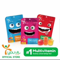 YOUVIT multivitamin gummy anak isi 30 pcs