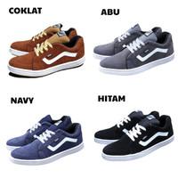 Sepatu Vans Old School Full Suede Sepatu Casual Kets Sneakers Pria