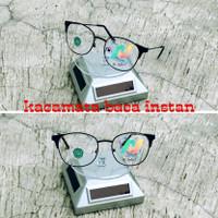 Kacamata baca plus korea siap pakai kacamata plus pria wanita kekinian