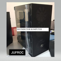 Cube Gaming JUFROC Mesh - Tempered Glass ATX Gaming Case