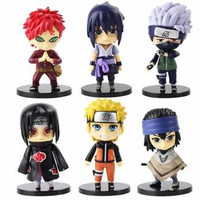 Rongzou Set Action Figure Naruto 6 PCS