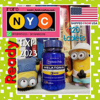 Puritans Pride 3mg Puritan Melatonin Supplement Tidur Import USA 3 mg