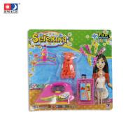 IMAGE TOYS mainan Setrika Set W/ Dress & Doll