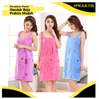 BAJU HANDUK / HANDUK BAJU / Wearable towel NEW -YOYOSOO