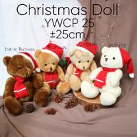 Boneka YWCP 25 - Christmas doll - Hadiah Natal - Boneka Natal - Xmas