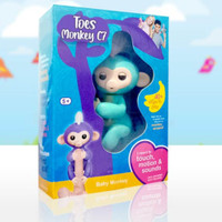 Toes monkey mainan monyet edukasi