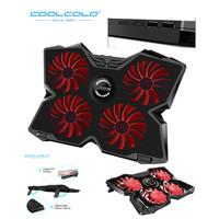 Coolcold Gaming Cooling Pad Laptop Cooler Fan 4 Kipas Stand Laptop K25