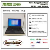 Lenovo ThinkPad T540p |Core i5-Gen 4 |VGA NVIDIA GeForce GT 730M (1 GB - RAM 4-HDD 500